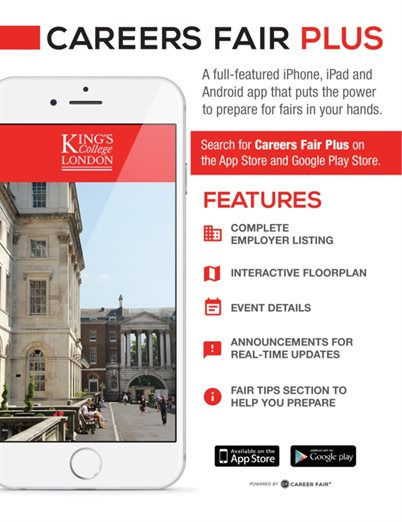 King's College London - Careers Fairs