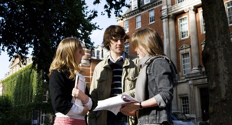 Students at Guy's Campus