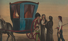 A Maltese carriage and passengers. From: Thomas Walsh. Journal of the late campaign in Egypt, 1803