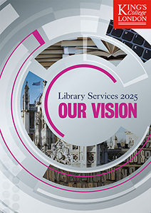 Library Vision 2025 brochure cover