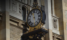 Picture of Maughan Library clock