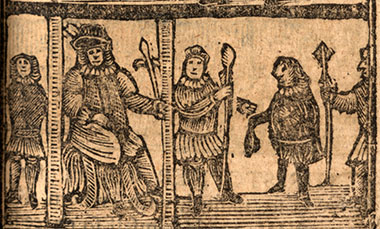 Image from an 18th century chapbook from the Foyle Special Collections Library