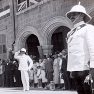 Coronation celebrations in Cyprus in 1937