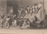 An interior view of a Jamaica house of correction. From 'A narrative of events since the 1st of August 1834 ...' by James Williams (1838)