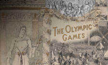 Montage of images from 'Ceremony and celebration: a summer exhibition for London's Olympic year'