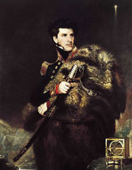 Portrait painting of Sir James Clark Ross