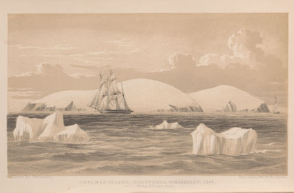 Lithograph of Coulman Island