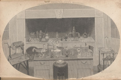 Engraving of the Chemical Theatre, Guy's Hospital.