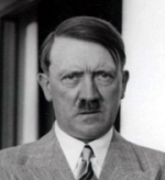Image of Adolph Hitler cropped from photo taken with General Sir Ian Hamilton, 1938