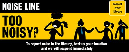 noiseline with respect your library logo