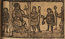Woodcut from an 18th century chapbook