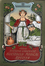 Cover of The Manchester Evening Chronicle Household Medical Adviser, 1900