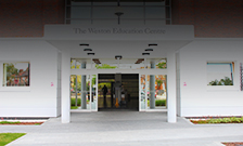 Weston Education Centre entrance