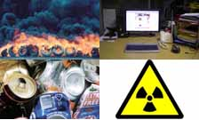Health and Safety image showing Fire, Radiation, DSE, Waste