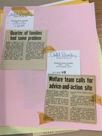 Press cuttings about Leeds CPAG branch, 1972