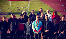 Image of the KCL Athletics and Cross Country Club at the 2016 BUCS Athletics Championships