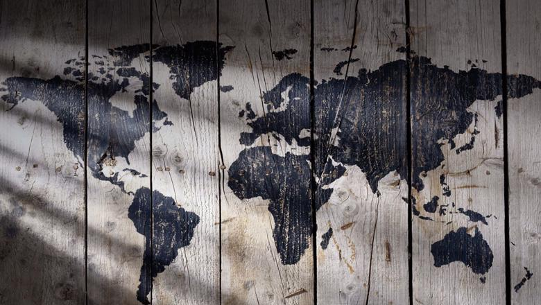 world-map-wooden