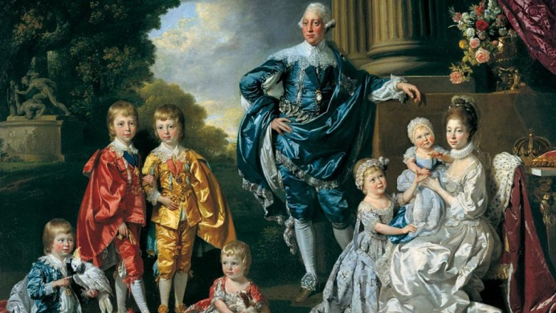 George III and family