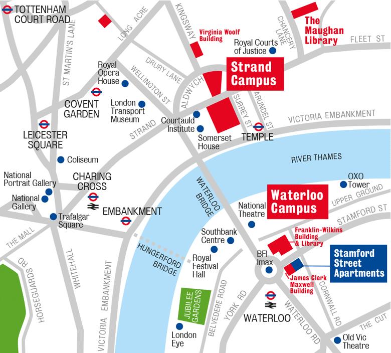 Map waterloo london Waterloo Map