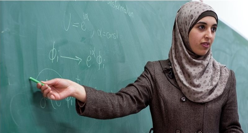 Women in Physics in the Palestinian Territories