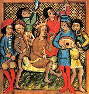 image of group of people playing instruments