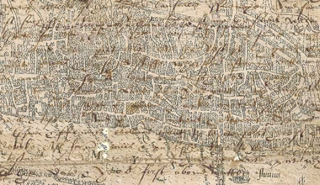 early modern map