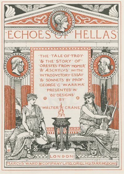 Echoes of Hellas title page