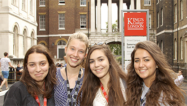 London Summer school students