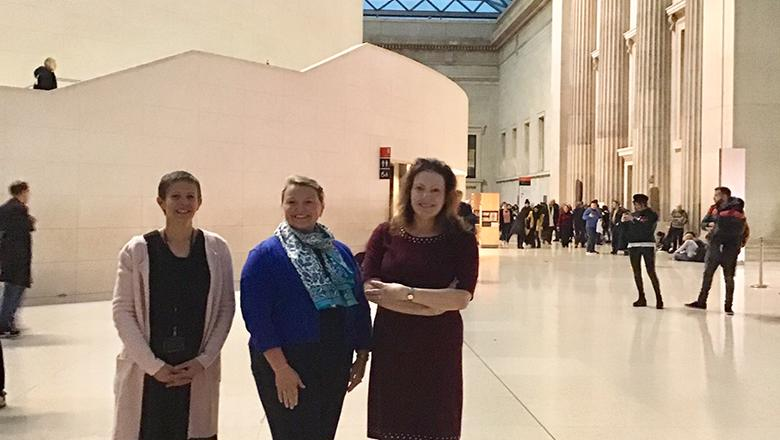 Arlene Edith and Susan at the BM 2