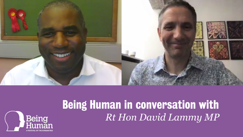 David Lammy Being Human event