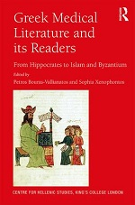 Petros Bouras-Vallianatos & Sophia Xenophontos (eds.), Greek Medical Literature and its Readers: From Hippocrates to Islam and Byzantium (2018) logo