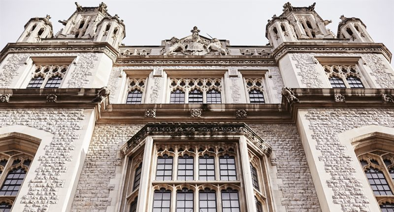 Image of Maughan library exterior