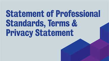 Statement of Professional Standards, Terms & Privacy Statement