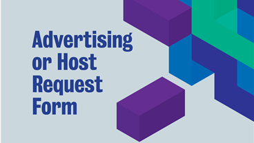 Virtual Events - Advertising or Host Request Form