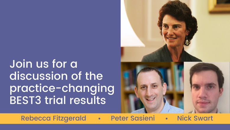 Join us for a discussion of the practice-changing BEST3 trial results