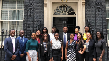 Into No 10: King's students address ethnicity in medicine