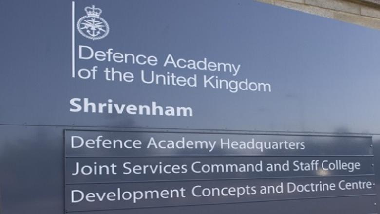 Defence Academy sign