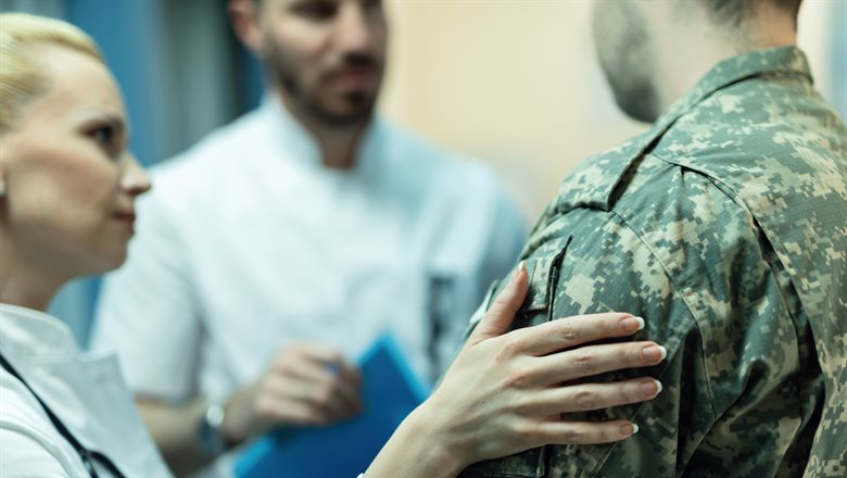 Ex-Service personnel suffering from moral injury, according to new research