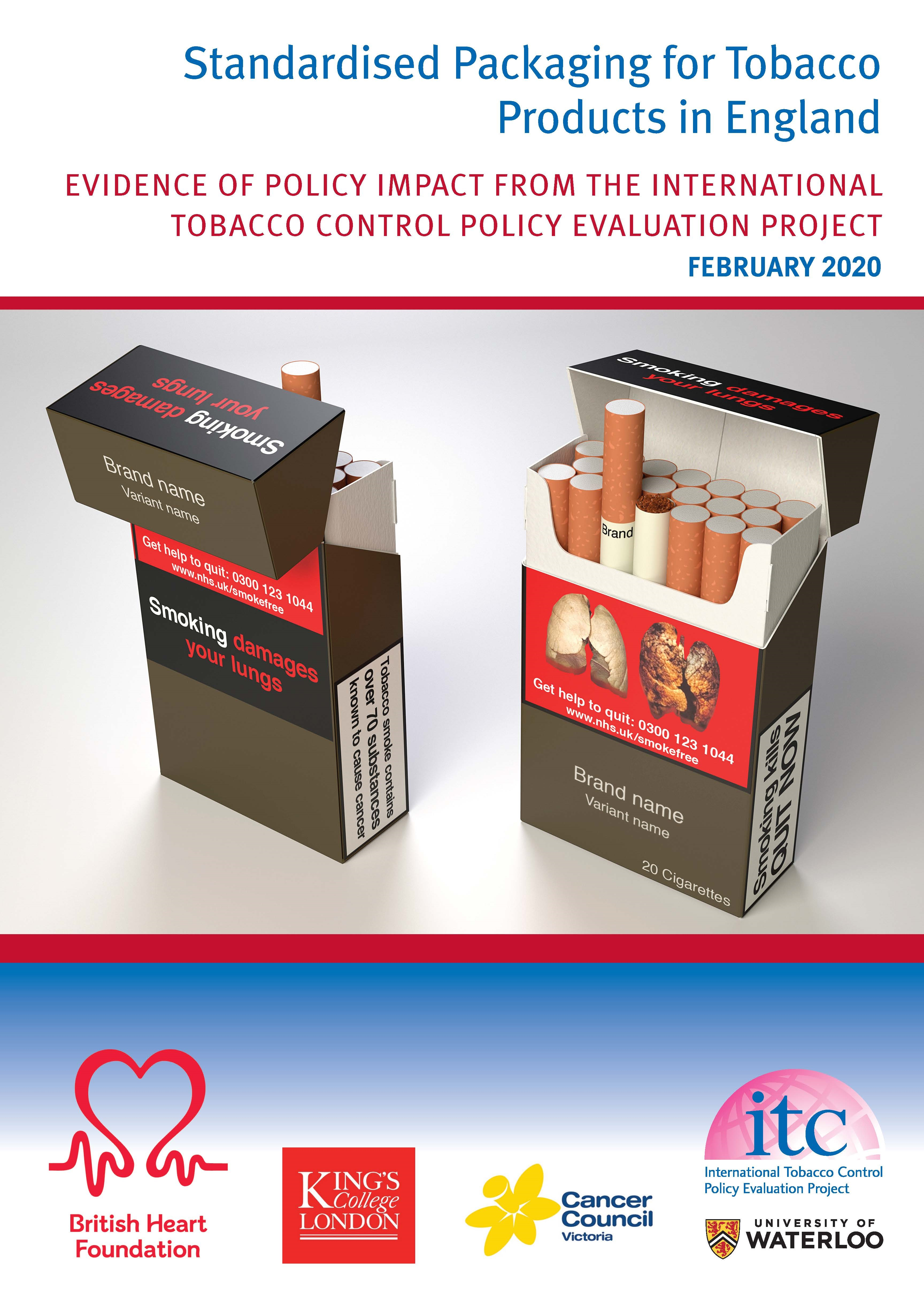United Kingdom's tobacco packaging law benefits smokers