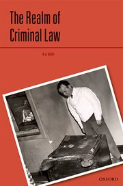 Book Jacket 'the realm of Criminal Law'