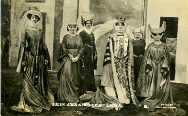 Queen Joan and Court Ladies Festival of Empire 1909 Jpeg 72dpi