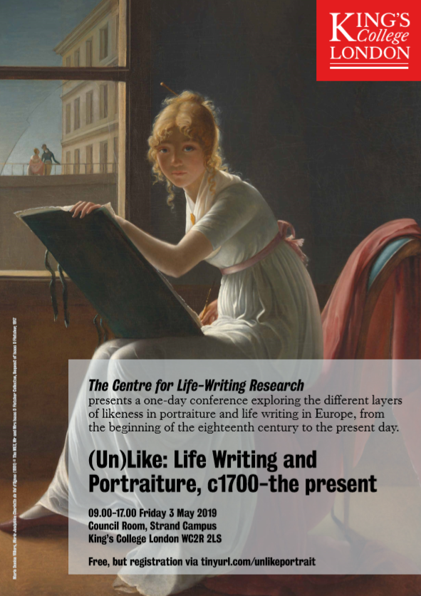 (Un)Like Life Writing & Portraiture event