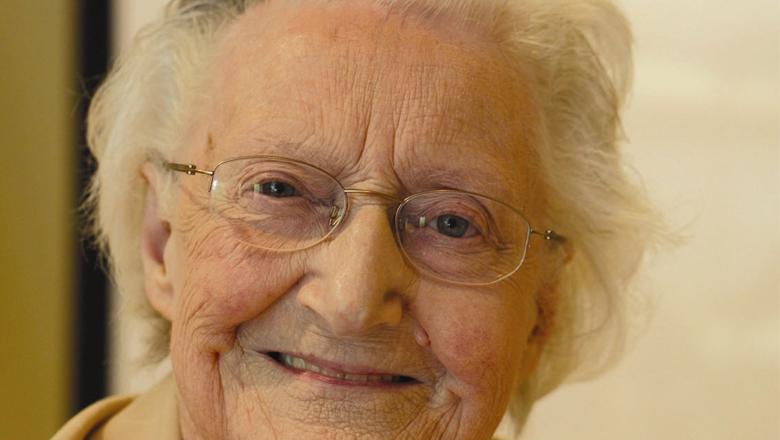 Cicely Saunders smiling