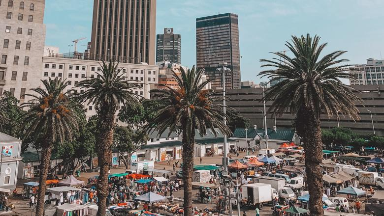 Market in Cape Town, South Africa. Photo by Ian Badenhorst on Unsplash