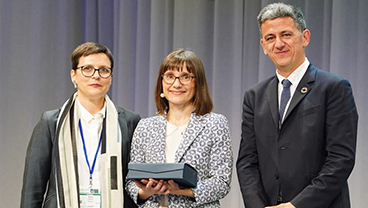 Katherine Sleeman awarded the inaugural European Association for Palliative Care award for women in palliative care