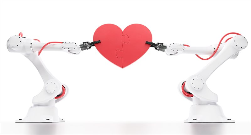 FEATURE Robot Arms Heart