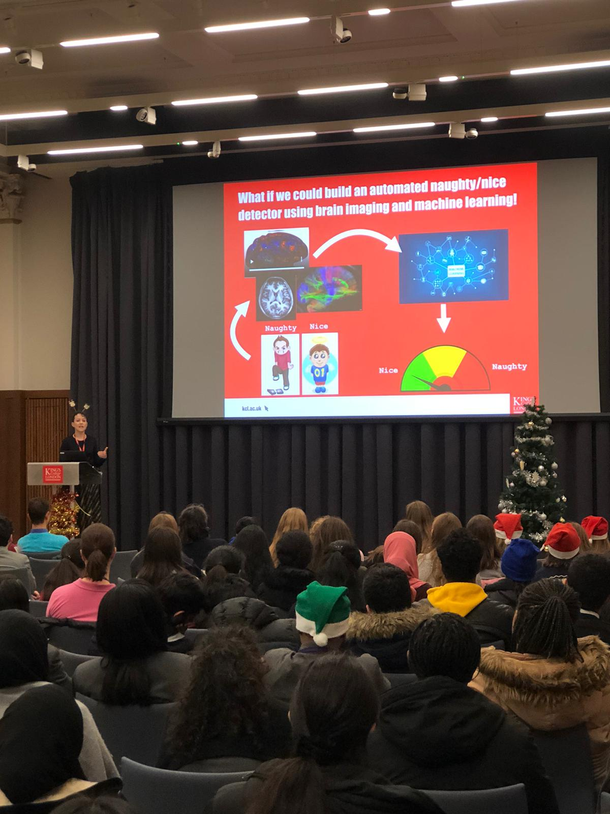 Christmas lecture 2019 Dr Emma Robinson