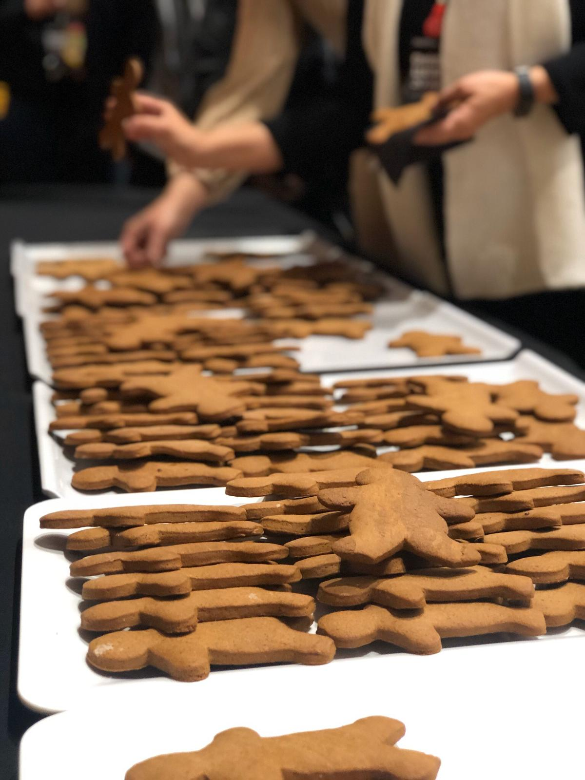 Christmas lecture 2019 gingerbread cookie