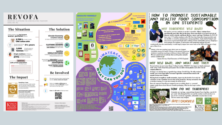 Student posters presented at the London Student Sustainability Conference 2021