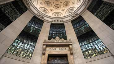 Bush House entrance, King's College London